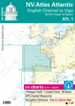 NV Atlas Atlantic ATL 1- English Channel to Vigo / North Coast of Spain