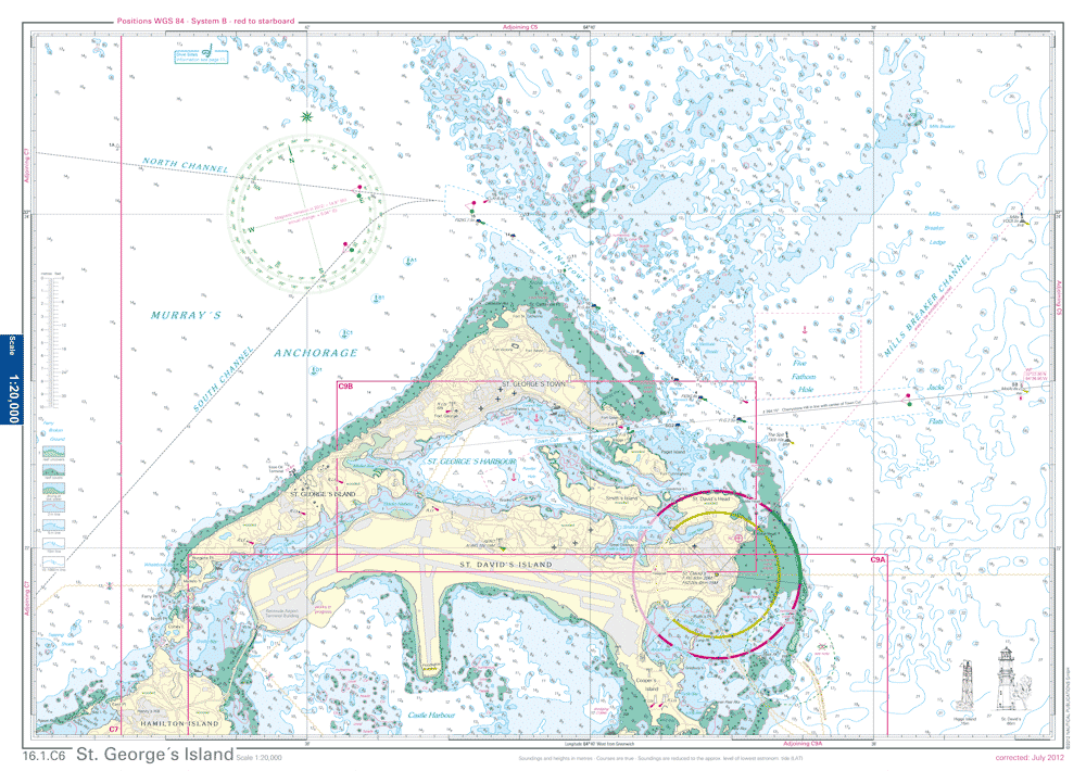 Nv Charts Bermuda - Bermuda islands map