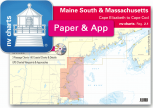 nv-charts Reg. 2.1, Maine South & Massachusetts Bay, Cape Elizabeth to Cape Cod