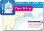 nv-charts Reg. 3.1, Rhode Island to Nantucket Sound, Watch Hill to Chatham - with App charts direct download!