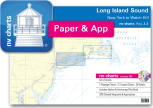 nv-charts Reg. 3.2, Long Island Sound, New York to Watch Hill - with App charts direct download!