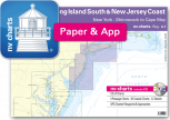 nv-charts Reg. 4.1, Long Island South & New Jersey Coast, New York, Shinnecock to Cape May - with App charts direct download!