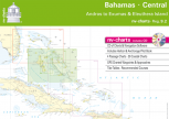 nv-charts Reg. 9.2, Bahamas Central, Andros to Exumas & Eleuthera Islands - with App charts direct download!