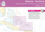 nv-charts Reg. 9.3, Bahamas South East, Cat & Long Islands, Rum Cay to Turks and Caicos